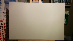 Canvas. 24x36.